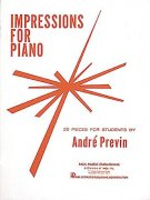 Andre Previn: Impressions For Piano