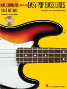 Easy Pop Bass Lines 2  (More) + CD