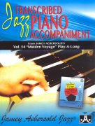 AEBERSOLD PLAY ALONG 54 - MAIDEN VOYAGE / jazz piano accompaniment