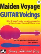 AEBERSOLD PLAY ALONG 54 - MAIDEN VOYAGE + CD / guitar voicings