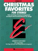 CHRISTMAS FAVORITES FOR STRINGS + CD / partitura