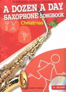 A DOZEN A DAY - CHRISTMAS SONGBOOK + CD / altový saxofon