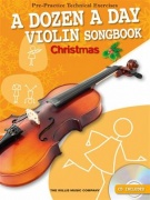 A Dozen A Day Violin Songbook: Christmas