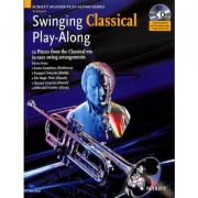 Swinging Classical Play-Along + CD - trubka a klavír