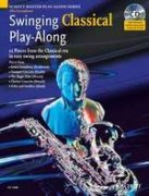 Swinging Classical Play-Along + CD alto sax a klavír