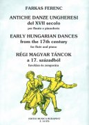 EARLY HUNGARIAN DANCES from the 17th Century / příčná flétna + klavír