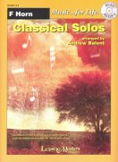 Music for Life - Classical Solos + CD // lesní roh (f horn)