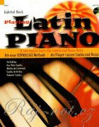 Playing Latin Piano + CD - Gabriel Bock