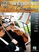 Violin Play-Along Volume 12: Wedding Classics pro housle