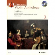Baroque Violin Anthology 2 - housle, klavír + CD