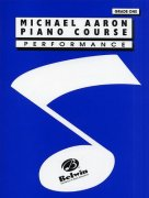 Michael Aaron Piano Course: Performance Grade One