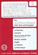 MUSETTE FESTIVAL 2 for Accordion -  solo, duo or ensemble