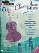 Jazz Play Along 72 - CLASSIC JAZZ BALLADS + CD