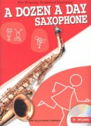 A DOZEN A DAY ( Pre-Practice Technical Exercises) + CD / altový saxofon