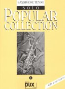 POPULAR COLLECTION 5 / solo book - tenorový saxofon