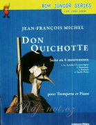 MICHEL Jean-François, Don Quichotte  trumpet in Bb and piano