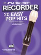 Playalong 20/20 Recorder: 20 Easy Pop Hits (Book/Audio Download)