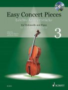 Easy Concert pieces 3 + CD - violoncello