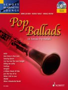 Pop Ballads klarinet + CD - 14 Famous Pop Ballads