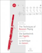 The Techniques of Bassoon Playing + 2 CD - Pascal Gallois