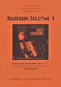AKKORDEON JAZZTIME 3 - Six Jazz Solos for Accordion / Šest jazzových skladeb pro akordeon