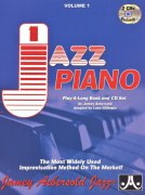 JAZZ PIANO 1 by Jamey Aebersold + 2x CD
