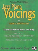 Jazz Piano Voicings from How to Play Jazz and Improvise by Jamey Aebersold