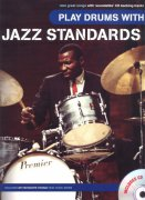 Play Drums With: JAZZ STANDARDS + CD