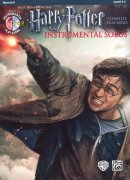HARRY POTTER: Complete Film Series -  Instrumental Solos + CD / f horn (lesní roh)
