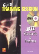 Guitar Training Session - JAZZ Standard & Rhythm + CD / kytara + tabulatura