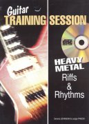 Guitar Training Session - HEAVY METAL Riffs & Rhythms + CD / kytara + tabulatura