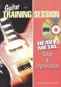Guitar Training Session - HEAVY METAL Solos & Improvisation + CD / kytara + tabulatura