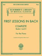 FIRST LESSONS IN BACH - Complete (books I+ II) / klavír