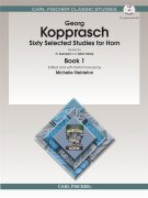 Georg Kopprasch: Sixty Selected Studies For Horn - Book 1/CD