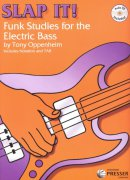 SLAP IT! Funk Studies for the Electric Bass by Tony Oppenheim + Audio Online