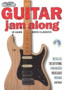 Guitar Jam Along: 10 Hard Rock Classics + CD / kytara + tabulatura