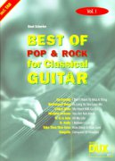 BEST OF POP & ROCK FOR CLASSICAL GUITAR 1 / guitar + tab