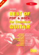 BEST OF POP & ROCK FOR CLASSICAL GUITAR 3 / guitar + tab