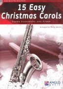15 Easy Christmas Carols + CD / tenorový saxofon + klavír