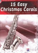 15 Easy Christmas Carols + CD / altový saxofon + klavír