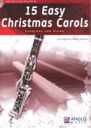 15 Easy Christmas Carols + CD / klarinet + klavír