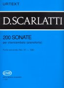 SCARLATTI: 200 Sonate per clavicembalo (pianoforte) 2 (No. 51 - 100) - URTEXT