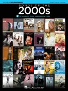 Songs of the 2000s - The New Decade Series + Audio Online //  klavír / zpěv / kytara