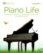 Piano Life - Lesboek 1 + 2 CD - Michiel Merkies