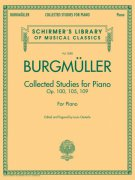 BURGMÜLLER: Collected Studies For Piano, Op.100, Op.105, Op.109