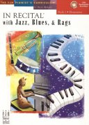 In Recital with Jazz, Blues & Rags 2 + Audio Online
