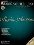Jazz Play Along Volume 183 - SONDHEIM (10 Favorite Songs) + CD
