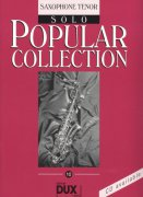 POPULAR COLLECTION 10 - solo book / tenorový saxofon