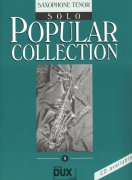 POPULAR COLLECTION 9 - solo book / tenorový saxofon