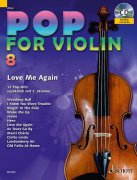 Pop for Violin 8 + CD - dueta pro dvoje housle